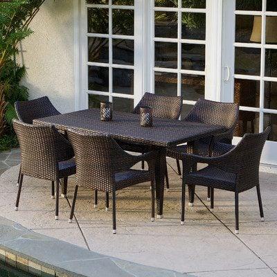 7-outdoor-wicker-furniture-sets Best Wicker Patio Furniture Sets