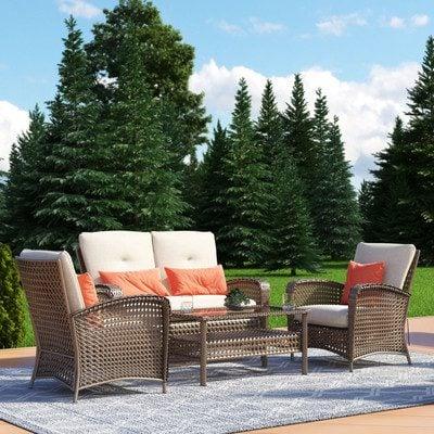 8-outdoor-wicker-furniture-sets Best Wicker Patio Furniture Sets