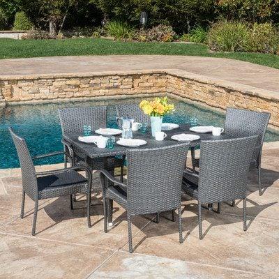 9-outdoor-wicker-furniture-sets Best Outdoor Patio Furniture