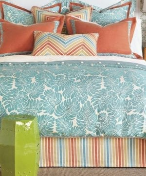 Capri-Comforter-Collection-by-eastern-accents-2-300x360 200+ Coastal Bedding Sets and Beach Bedding Sets