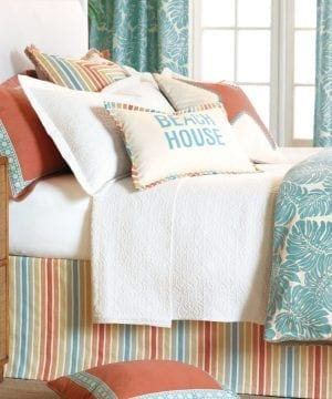 Capri-Comforter-Collection-by-eastern-accents-300x360 200+ Coastal Bedding Sets and Beach Bedding Sets