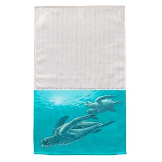 Sea Turtles Multi Face Hand Towel Beautiful Beach And Nautical