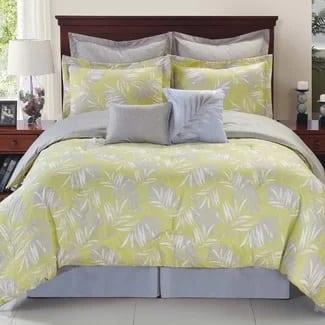 bay-isle-home-tropical-reversible-comforter-set Hawaii Themed Bedding Sets