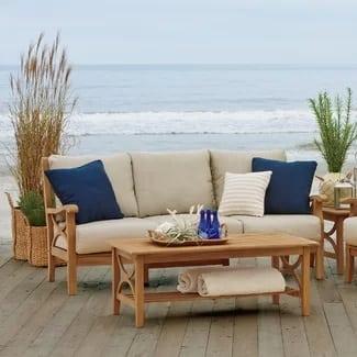 brunswick-teak-sofa-set-with-cushions Best Teak Patio Furniture Sets