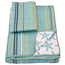 cozy-bed-mesa-polyster-starfish-quilt 50+ Starfish Bedding Sets and Starfish Quilt Sets