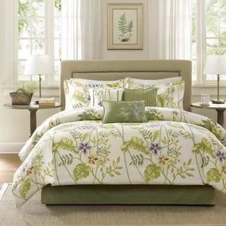 greenville-7-piece-comforter-set Hawaii Themed Bedding Sets