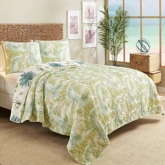 hawaii-reversible-quilt-set Hawaii Themed Bedding Sets