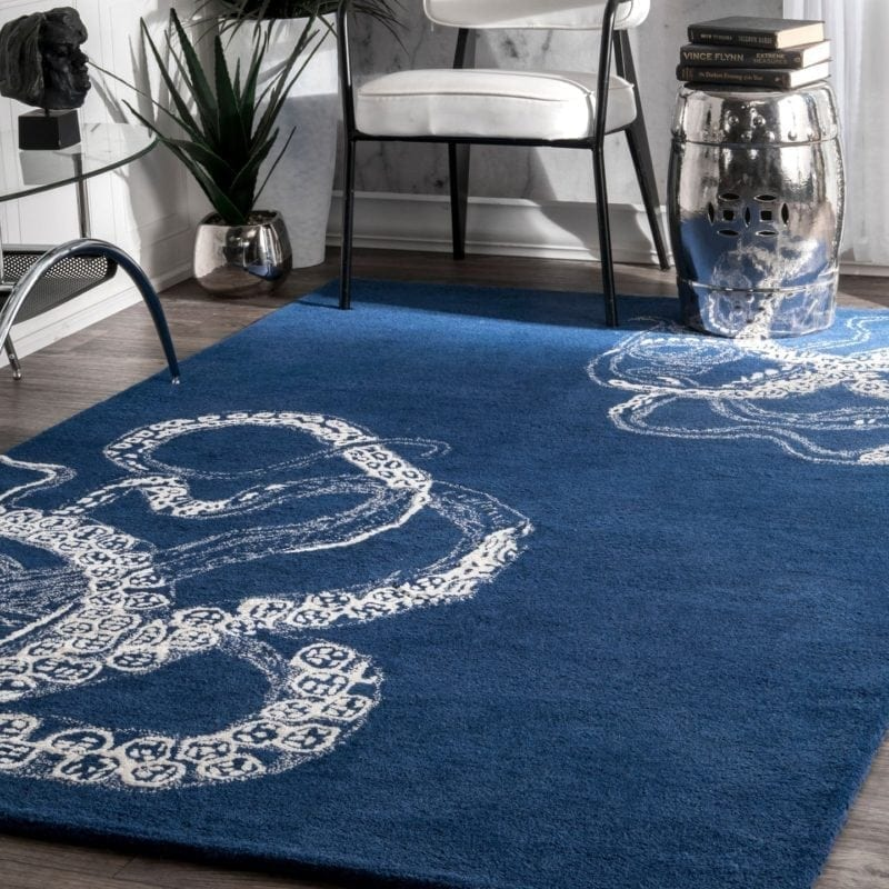 nuloon-handmade-octopus-area-rug-silk-wool-800x800 50+ Octopus Rugs and Octopus Area Rugs