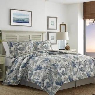 tommy-bahama-raw-coast-duvet-cover-set Hawaii Themed Bedding Sets