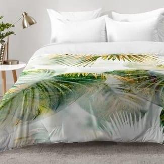 tropical-lush-comforter-set Hawaii Themed Bedding Sets