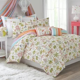 viv-rae-fabrizio-comforter-set Hawaii Themed Bedding Sets