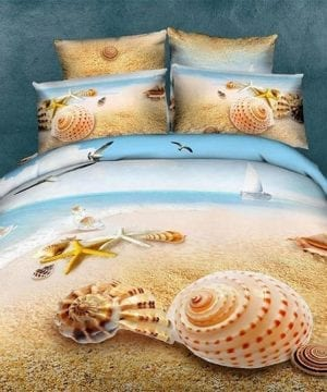 beach bedding set bed in a bag