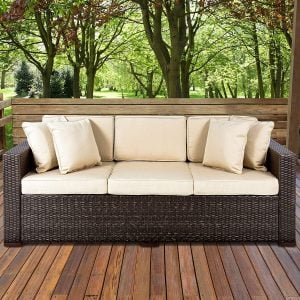10-best-choice-products-wicker-sofa-cushioned-300x300 Best Outdoor Wicker Patio Furniture
