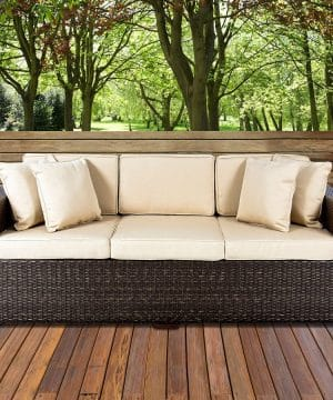 10-best-choice-products-wicker-sofa-cushioned-300x360 Best Wicker Patio Furniture Sets For 2020