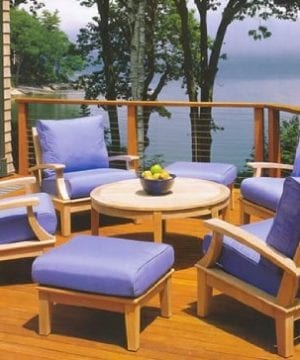 wholesaleteak 7-pc teak sofa set