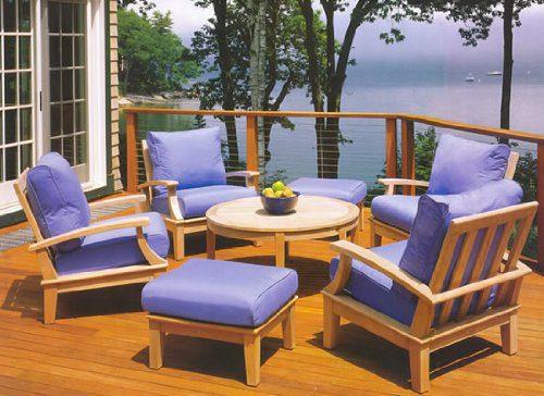 wholesaleteak 7-pc teak sofa set
