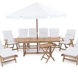 14-beliani-riviera-deluxe-outdoor-teak-sofa-set-300x300 51 Teak Outdoor Furniture Ideas For 2020