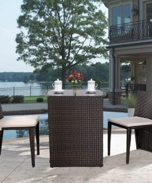 Premium Product 3-PC Wicker Conversation Dining Set