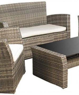 Mission Hills Furniture Wicker Patio Sofa Set