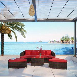 22-modern-outdoor-wicker-sofa-set-300x300 Wicker Patio Furniture Sets