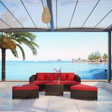 22-modern-outdoor-wicker-sofa-set-450x450 Best Outdoor Wicker Patio Furniture