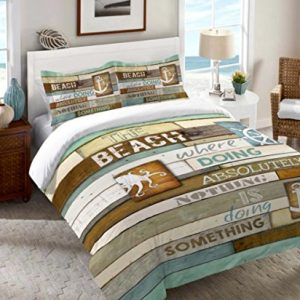 26-rustic-beach-comforter-bedding-set-300x300 200+ Coastal Bedding Sets and Beach Bedding Sets For 2020