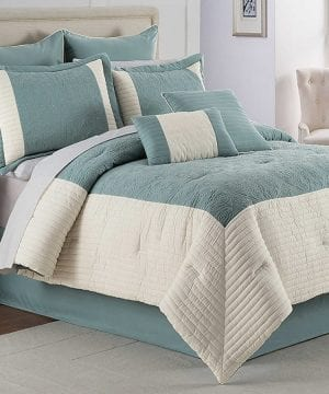 32-hathaway-geometric-comforter-bedding-set-300x360 200+ Coastal Bedding Sets and Beach Bedding Sets