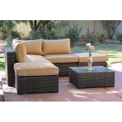 4-Lara-6PC-Deep-Seated-Wicker-Sectional Wicker Sectional Sofas