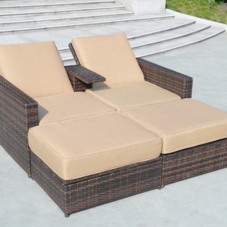 4-pc-double-chaise-lounge-set-450x450 Wicker Chaise Lounge Chairs