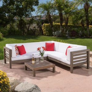 ravello outdoor teak patio set