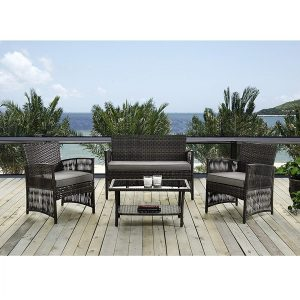 ids home outdoor wicker furniture set
