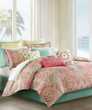 6-pink-tropical-bedding-set-300x360 200+ Coastal Bedding Sets and Beach Bedding Sets