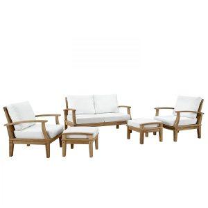8-lexmod-outdoor-5pc-teak-sofa-set-300x300 Teak Sofa Sets & Teak Couches
