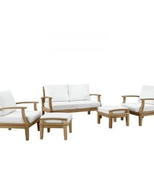 8-lexmod-outdoor-5pc-teak-sofa-set-300x360 Best Teak Patio Furniture Sets