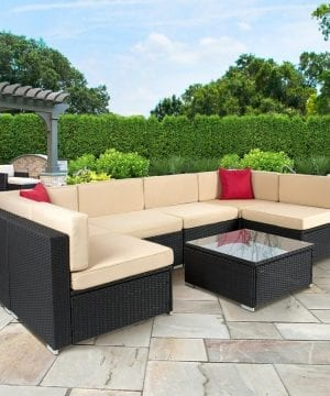 9-best-choice-products-wicker-sofa-set-300x360 Best Wicker Patio Furniture Sets For 2020