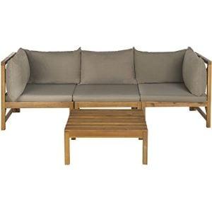 9-safavieh-outdoor-lynwood-teak-sectional-300x300 Teak Sofa Sets & Teak Couches