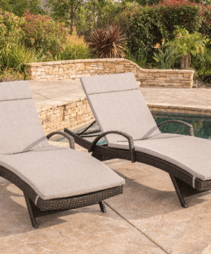darby co luther chaise wicker lounge