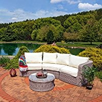 sunnydaze-wicker-sectional Wicker Sectional Sofas
