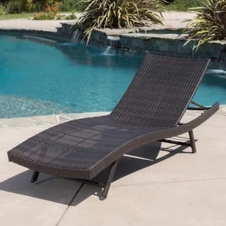 wade-logan-noelle-chaise-lounge Wicker Chaise Lounge Chairs