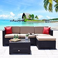 wicker-sectional-sofa-set Wicker Sectional Sofas