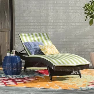zipcode-design-cushioned-wicker-lounge-chair Wicker Chaise Lounge Chairs