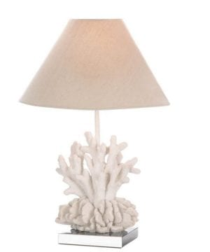 1-Core-Of-Decor-White-Coral-Table-Lamp-300x360 200+ Coastal Themed Lamps