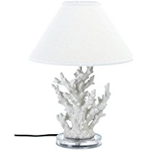 1-coral-table-lamp Best Coastal Themed Lamps