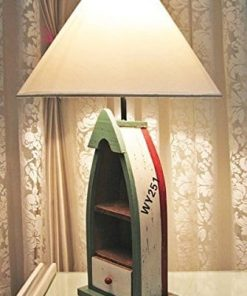 Nautical Rustic Coastal Boat Table Lamp