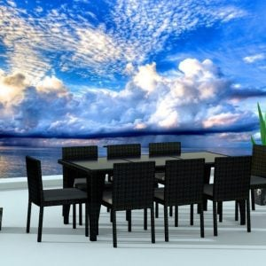 1-urban-finishing-modern-wicker-dining-set-300x300 Wicker Dining Tables & Wicker Patio Dining Sets