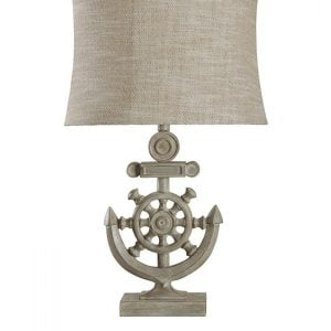 10-StyleCraft-Shipwheel-Nautical-Table-Lamp-300x300 Anchor Decor & Nautical Anchor Decorations