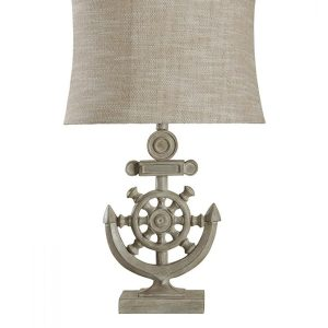 10-StyleCraft-Shipwheel-Nautical-Table-Lamp-300x300 Best Coastal Themed Lamps