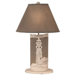 10-coastal-living-lighthouse-scene-panel-lamp-300x300 Best Coastal Themed Lamps