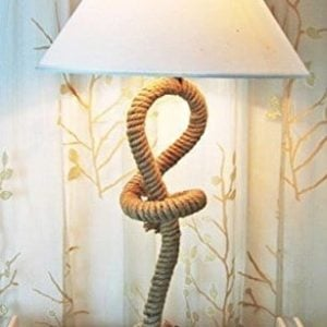 Modern Nautical Pier Rope Table Lamp