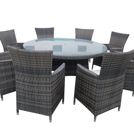 10-round-9pc-outdoor-wicker-dining-set-450x450 Wicker Patio Dining Sets